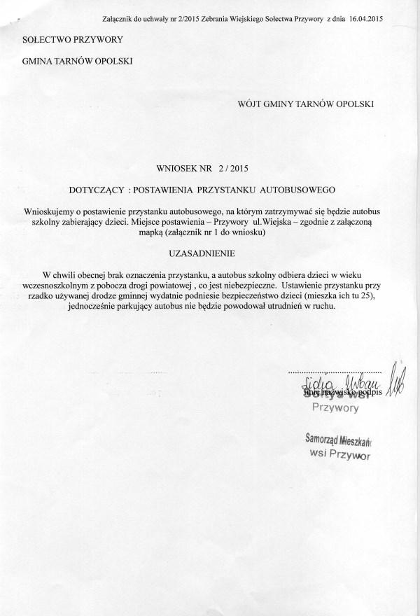 wniosek 2-2015003