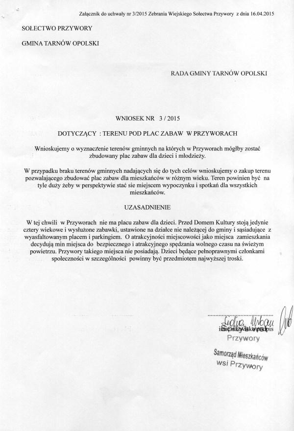 wniosek 3-2015001