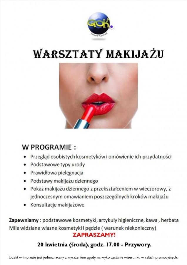 Warsztaty makijażu Przywory